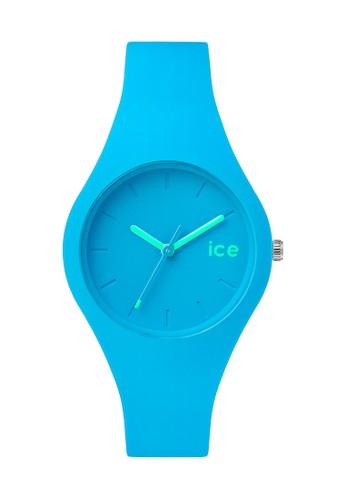 Icsalon esprit 香港e Ola 矽膠中性圓錶, 錶類, 飾品配件