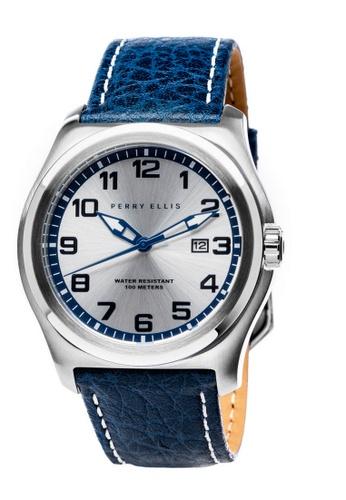 Perry Ellis blue Perry Ellis Memphis Men 44mm Quartz Watch 04001-01 FC6BEAC74A305FGS_1