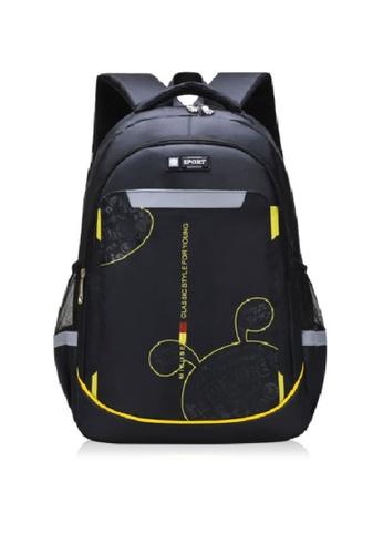 Twenty Eight Shoes black VANSA Nylon Backpacks VAK-Bp1901 930D0KC3D1322DGS_1