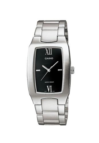 CASIO silver Casio Watch For Men MTP-1165A-1C2DF for man A2D14AC05CB720GS_1