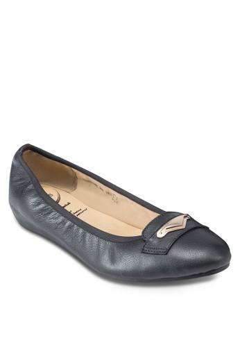 Aina 金飾芭esprit hong kong蕾平底鞋, 女鞋, 鞋