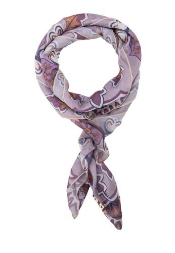 印zalora 台灣門市花絲巾, 飾品配件, 披肩