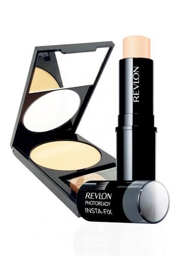 Revlon beige Revlon PhotoReady Insta-Fix™ Makeup 110 IVORY 6.8g + Revlon PhotoReady™ Powder 020 Light/ Medium 7.1g RE737BE13CXYSG_1