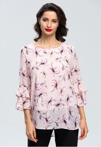 Buy era maya pink flower petals blouse by elegance online zalora era maya pink pink flower petals blouse by elegance 45e19aaed752b5gs1 mightylinksfo