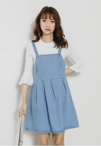 6b08d9155eb Buy Shopsfashion Light Denim Slip Dress Online on ZALORA Singapore