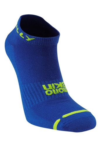 HILLY Hilly Unisex Lite Socklets (Cobalt/ Fluorescent Yellow) 26F1EACDFF39B8GS_1