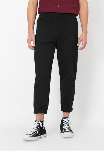 A for Arcade black Wide-Leg Work Trousers in Black 9DDE0AA42B95C2GS_1