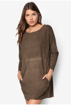 Coccon Suede Dress