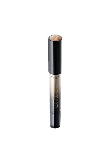 L'Oréal Paris beige L'Oreal Make Up Designer Paris Le Stylo Smoky Eyeshadow 101 Antique Brass LO618BE0S2UFMY_1