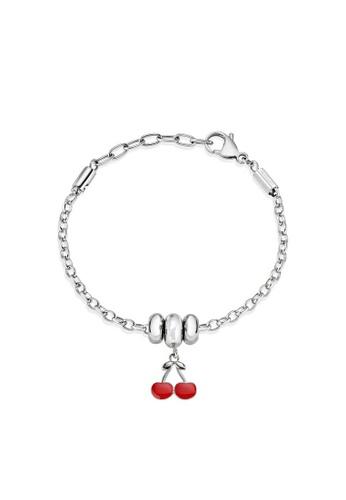 Morellato silver Drops Bracelet SCZ890 Stainless Steel Enamel CEF17AC026D1C8GS_1