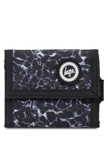 Just Hype black Mono Pool Trifold Wallet BE95EACCF35BEFGS_1