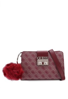 84f5179ab3dc Psst... we have already received your request. Guess. Logo Luxe Crossbody  Girlfriend Bag