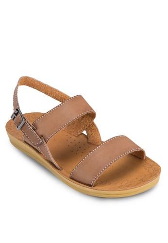扣環踝帶厚底涼鞋, 女esprit outlet 高雄鞋, 涼鞋