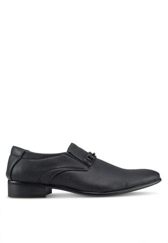 Rocklander black Formal Slip On Shoes FF176SHF7F4723GS_1