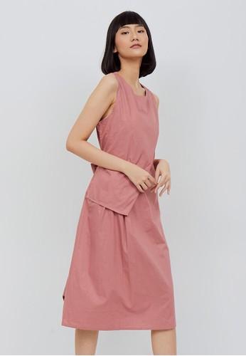 Kimora Kei pink Kimora kei Baju Wanita Akira Dress Pink Rose 73BDBAA3C3B575GS_1