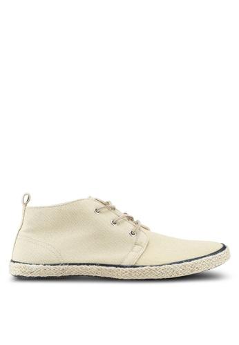 Superdry beige Skipper Chukka Shoe 1E0D6SHF059FA2GS_1