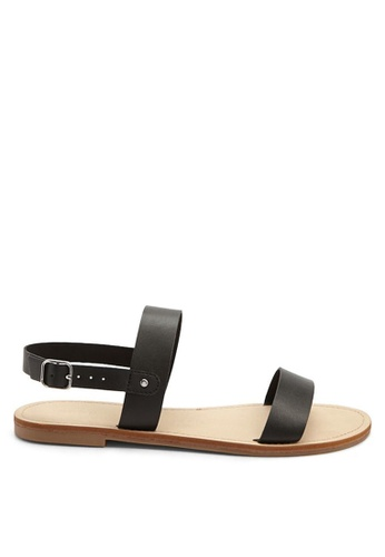 99ec90bf8ded2 Buy FOREVER 21 Faux Leather Sandals Online on ZALORA Singapore
