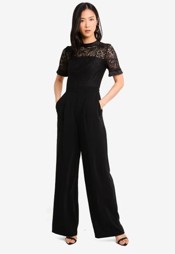 69c468d6799 Buy Forever New Lace Bodice Jumpsuit Online on ZALORA Singapore