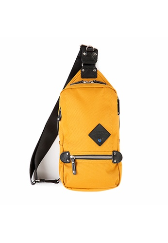 Harvest Label yellow Harvest Label Mini Square Slingpack - Yellow 541B6ACC01BE31GS_1