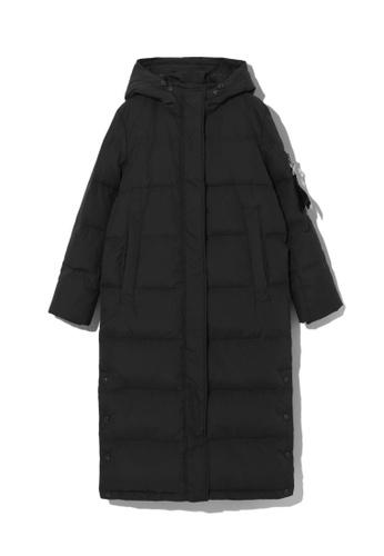 LOS ANGELES PROJECT -FASHION black Long down coat. FF0E4AA34A41CDGS_1