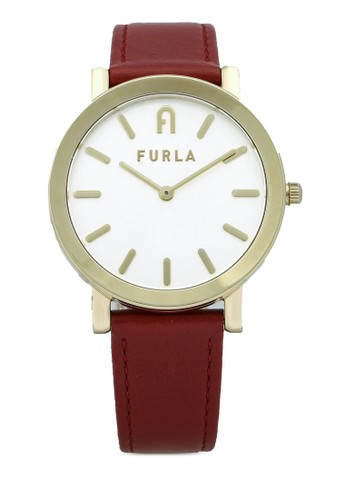 FURLA Watches red and gold Ladies Gold Dress Watch 03A6FACFFC1337GS_1