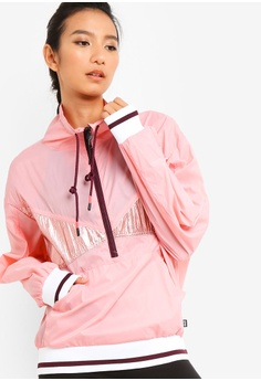 d2e83a97edbc0 Cotton On Body red and pink Dropped Shoulder Sheer Jacket 1C039AA88368ABGS_1