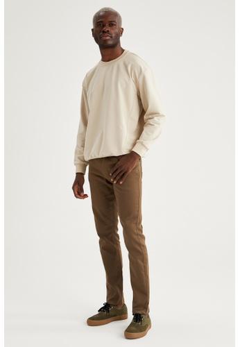 DeFacto brown Man Woven Trouser 2B8A8AAC53D81DGS_1