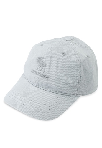 Abercrombie & Fitch grey Dad Cap 3B87CKCDC06C80GS_1