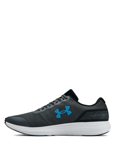 95cb63812b7 Under Armour UA Surge Running Shoes S  89.00. Available in several sizes. Under  Armour black UA Men s ...