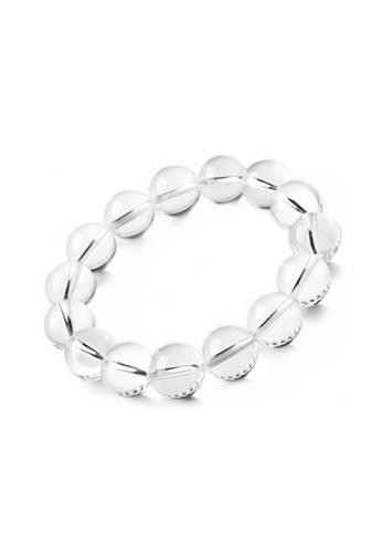 Memento Collection white Natural White Crystal Bracelet ME060AC0S1XAMY_1