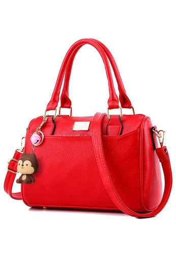 TCWK red Ladies Handbag TC258AC38KDDMY_1