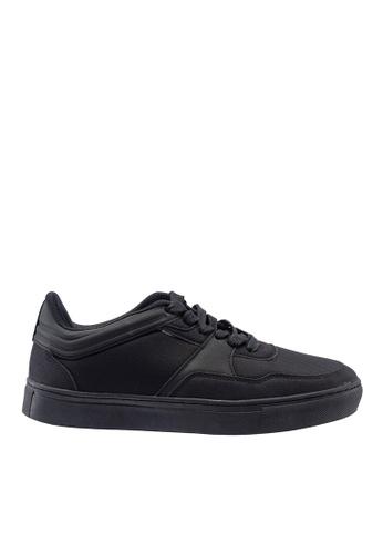 Hush Puppies black Hush Puppies Men's Carlito Casual Sneaker Black 6A536SH04D1034GS_1