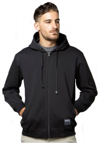 Brain Clothing black Jaket Hoodie BOLD 0AC09AA53DE147GS_1