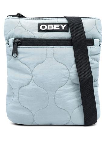 OBEY blue Juniper Side Pouch 0E97EACB8530A2GS_1