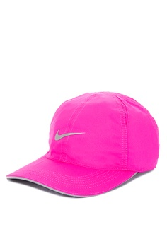 more photos f0849 bde70 Nike pink Nike Featherlight Cap 5DDF9ACF1D1172GS 1
