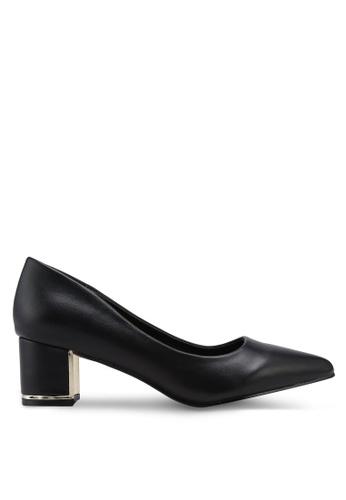 Bata black Pointed Toe Heels 92531SH365BC92GS_1