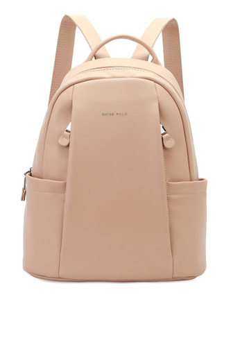 Swiss Polo beige Party Backpack C554CACC851BB8GS_1