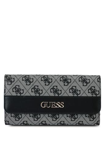 Guess black Sosie Multi Clutch Wallet E4692AC3644A7CGS_1