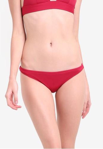 Mango red Basic Bikini Bottom MA193US53KOCMY_1