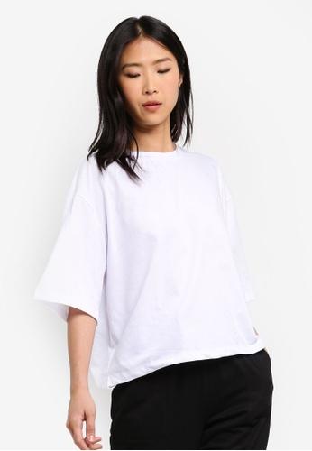 ZALORA BASICS white Basic Oversized T-Shirt 79EE2AAFA0F62FGS_1