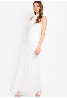 ced66c389719 18% OFF Frock and Frill White Embellished Dress S$ 359.90 NOW S$ 294.90  Sizes 6 8 10 12 14