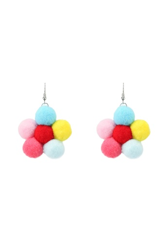Saturation multi Takashi Flower Earrings SA407AC0SRVXMY_1