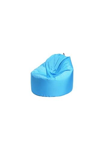 doob blue OOMPH MINI - spill-proof kids doob bean bag (Caribbean Blue) D0635HL0CC8BD3GS_1