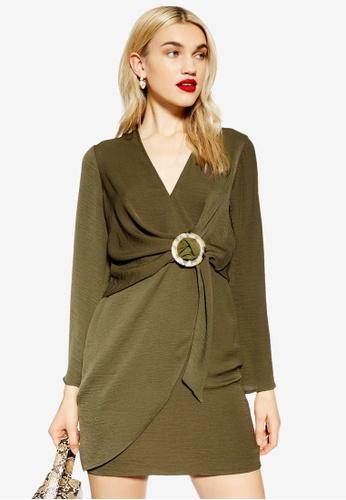 99e7ee4ce6f7 Buy TOPSHOP Horn Ring Mini Dress Online on ZALORA Singapore