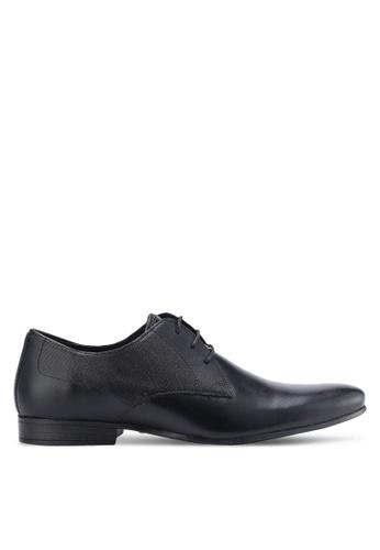 Burton Menswear London black Krawley Shoes BU964SH95DPOMY_1