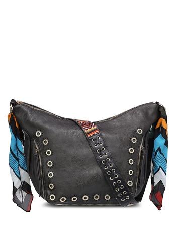 Desigual brown Somalia Janis Sling Bag DE160AC0RJZTMY_1