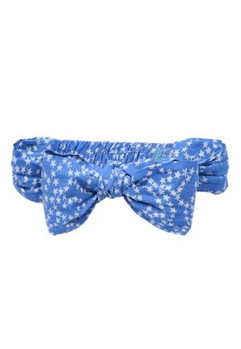 lil' notre blue Kids Batik Bandana D2ECEKCBA316FDGS_1