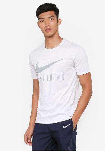 Nike grey Nike Dry Training T-Shirt 37B09AA58547E7GS_1