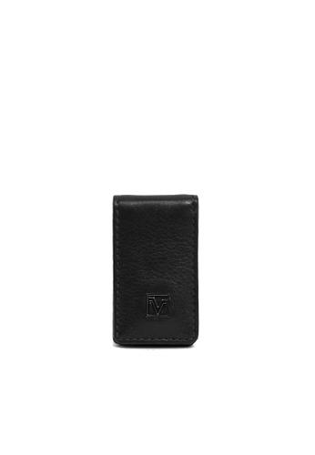 Valentino Rudy black Valentino Rudy Full Leather Money Clip 38632AC5485E87GS_1
