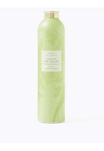 MARKS & SPENCER M&S Lily of the Valley Talcum Powder 200g BF81EBE93DD6F4GS_1